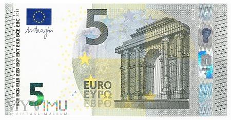 Unia Europejska - 5 euro (2013)