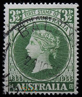 Australia Południowa 3 1/2d Victoria