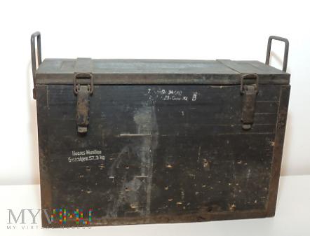Duże zdjęcie Skrzynia na amunicję do 7,5 cm GebirgsGeschütz 36