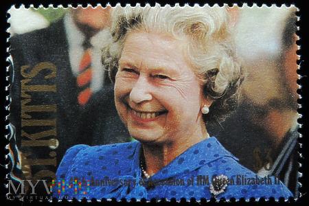 St. Kitts 3$ Elżbieta II