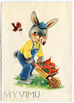 Pozdrowienia Wielkanocne - lata 70-te XX w.