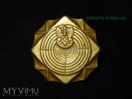 Odznaka strzelecka duża brązowa