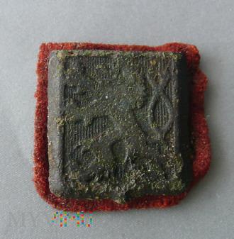 Emblemat z czapki wojsk czecho-słowackich
