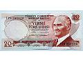 Zobacz kolekcję TURCJA banknoty