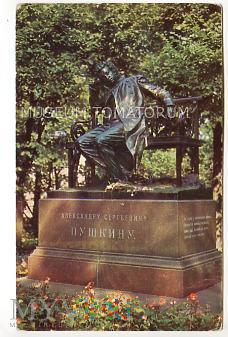 Puszkin - Pomnik Puszkina - 1970