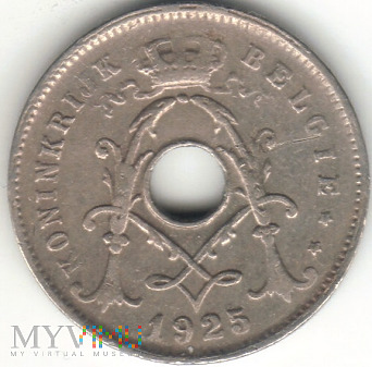 5 CENTIMES 1925 BELGIE