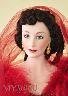 Franklin Mint Scarlett O'Hara suknia wstydu