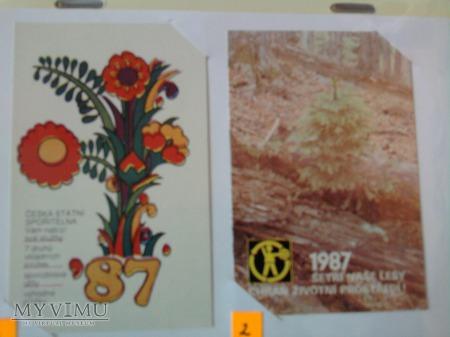 Kalendarzyki 1987