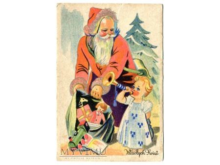 Duże zdjęcie Święty Mikołaj Siennicki Wesołych Świąt 1939