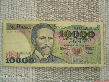 10000 złotych 1988 r.