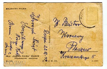 1949 PRL Zofia Stryjeńska Trzej Królowie