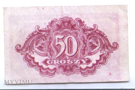 50 groszy - 1944 rok.