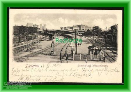 TCZEW Dirschau , Dworzec kolejowy