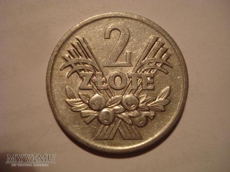 """2 ZŁ """"kłosy i owoce"""" zbiór 3 monet"""