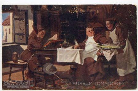 Monk Friar Mönch capucin zakonnik - wyżerka 3