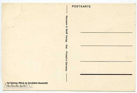 Spitzweg - Monk zakonnik - lektura 7