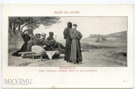 Duże zdjęcie Bénouville - Monk zakonnik -św. Franciszek z Asyżu