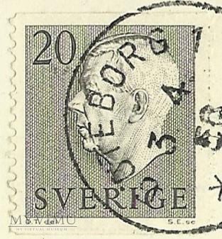 Glad Pask - Szwecja -1956 r.