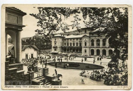 Krynica - Deptak - 1950