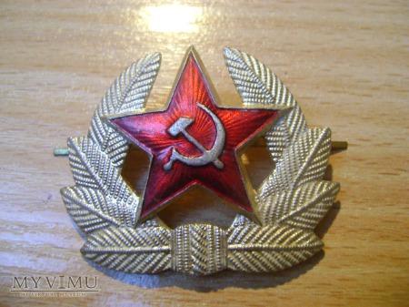 radziecka gwiazda z czapki