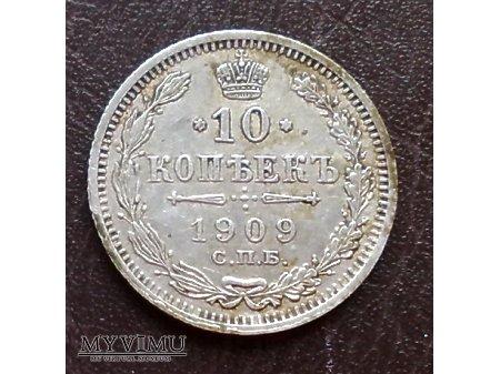 10 Kopiejek z 1909 r.