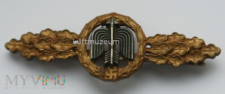 Duże zdjęcie Fronflugspange für Jäger/Tagjäger Bronze