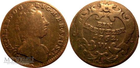Krajcar 1762 W