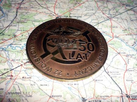 Medal okolicznościowy: 50 lat 22 WOT-K w Komorowie