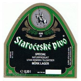 staročeské pivo mörk lager