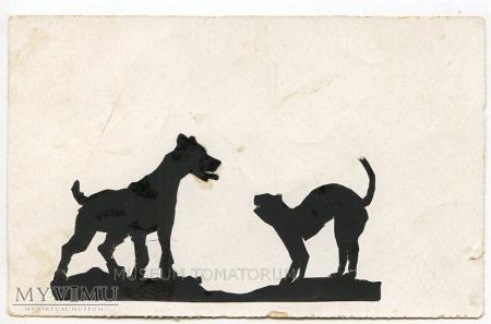 Jak pies z kotem - 1937
