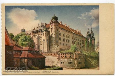 Kraków - Wawel od północy- lata 30/40-te