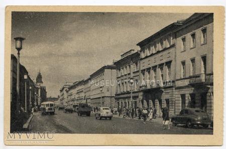 W-wa - Nowy Świat - 1954