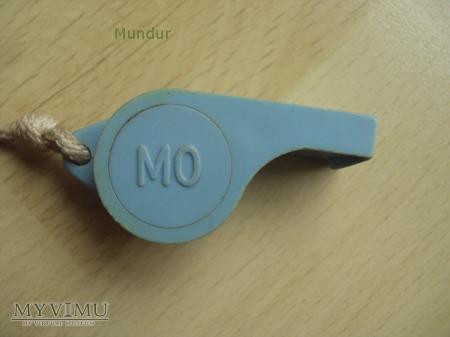 Gwizdek MO - niebieski