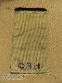 Wieka Brytania - oznaka stopnia: Q.R.H