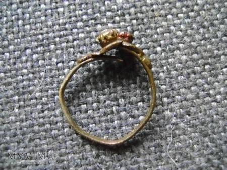 pierścionek miedziany