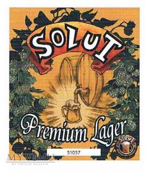 solut premium lager