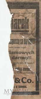 "Duże zdjęcie 16 ""Gazeta Toruńska - Codzienna"" lipiec 1914"