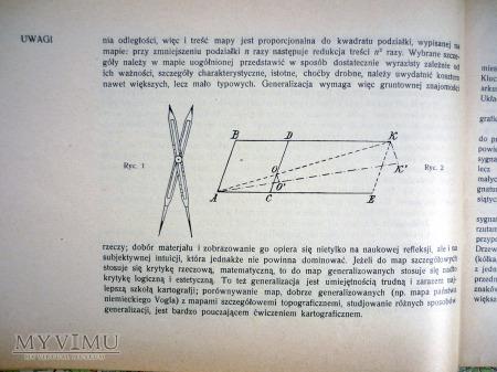 KURS KARTOGRAFJI - prof. St. KORBEL - KRAKÓW 1927r