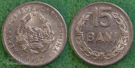 Rumunia, 15 Bani 1960