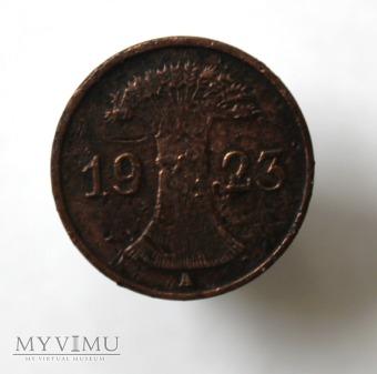 1 pfennig 1923