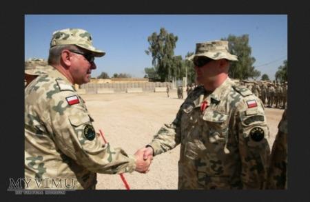 Naszywka używana w ramach PKW Irak i Afganistan
