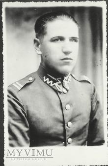 Kapral Stanisław Banach z 25 Pułku Ułanow Wilek.