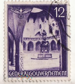 Generalgouvernement 12 / 60 groshen rok 1941