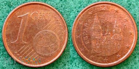 1 EURO CENT 2003