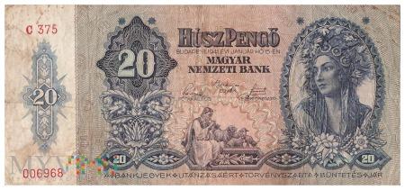 Węgry - 20 pengő (1941)