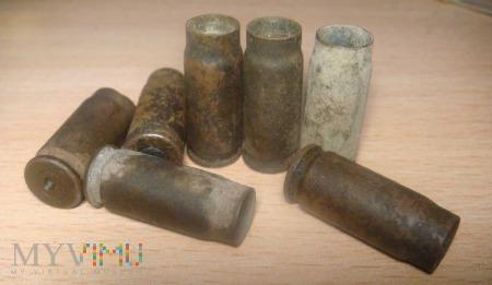 Łuski od naboju Tokariewa 7,62 × 25 mm TT