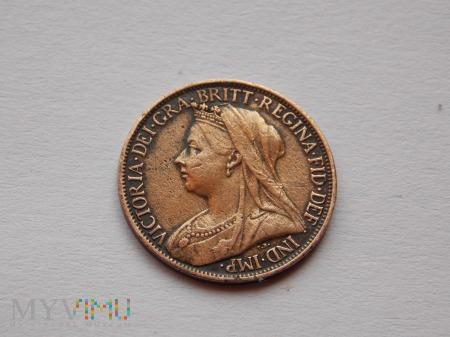 FARTHING- 1901- ANGLIA