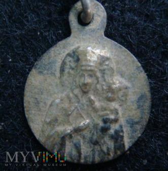 Medalik Matki Bożej Częstochowskiej
