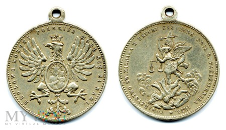 Medal Towarzystwa św. Michała w Bruchu