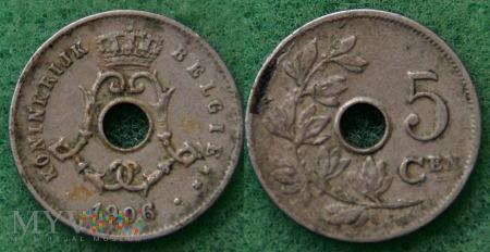 Belgia, 1906, 5 Centimes